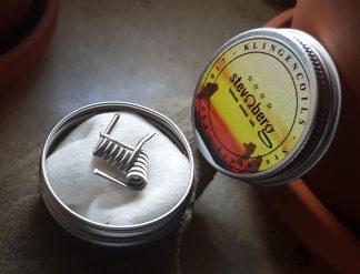 Framed Staple in tin