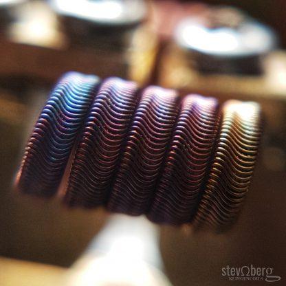 Framed Staple Alien